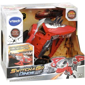 Vtech Switch & Go Dino - Kyrion, Super Ptéranodon hélicoptère