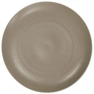 Guy Degrenne 6 assiettes plates rondes Modulo Nature (28 cm)