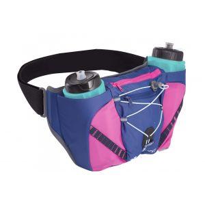 Raidlight Porte bidons Activ Dual 600 - Dark Blue / Pink - Taille One Size