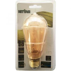 Ampoules LED E27 ST64 Déco Nouvelle Génération - 4 W équivalence 20 W - Blanc chaud