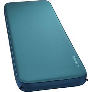 Therm-a-Rest Mondo King 3D Stretch - Matelas - XXL bleu/Bleu pétrole Tapis de sol
