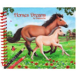 Depesche Carnet de poche 3D Horses Dreams