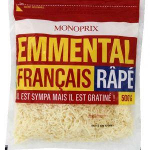 Monoprix Emmental français râpé