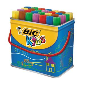 Bic Boîte de feutres Décoralo couleurs assorties Ecole
