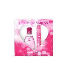 Ulric de Varens Mini Love - Coffret eau de parfum et vaporisateur de sac