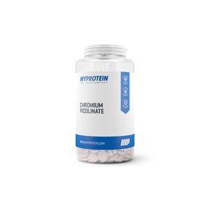 Myprotein Picolinate de chrome, Sans arôme ajouté, Pot, 180 tablettes