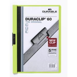 Durable Chemise à clip Duraclip Original format A4 (60 feuilles)