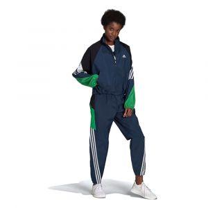 Adidas Survêtement TS WVN GAMETI Bleus - Taille S