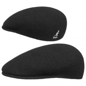 Kangol Bonnet Wool 504 - Mixte - Noir - Small