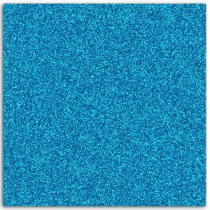 Toga Papier adhésif pailleté bleu fluo 30x30cm