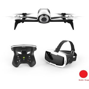 Parrot Drone Bebop 2 Rouge + Pack FPV