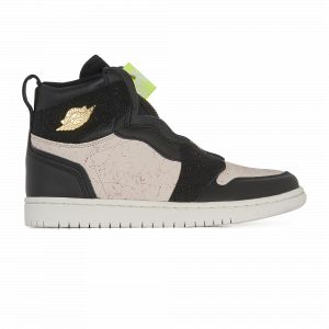 Nike Chaussure Air Jordan 1 High Zip pour Femme - Couleur Noir - Taille 36.5