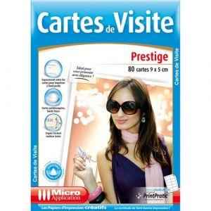 Cartes de visite prestige [Windows]