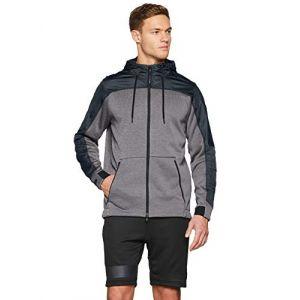 Under Armour Swacket ColdGear M vêtement running homme Gris/argent - Taille S