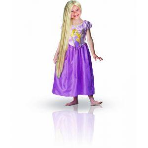 Déguisement princesse Raiponce avec perruque