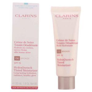 Clarins 06 Bronze - Crème de soins teintée désaltérante multi-hydratante SPF 15