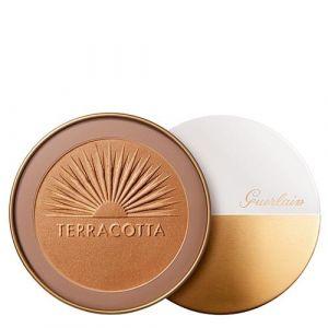 Guerlain Terracotta Ultra Shine : Bronze - Poudre bronzante effet irisé