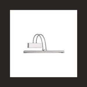 Ideal lux Applique tableau led bow Nickel Acier 007038 - Acier - Nickel