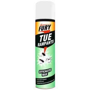 Fury Insecticide aérosol insectes rampants 400ml - Insecte rampant