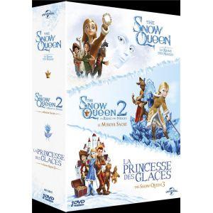 The Snow Queen, La Reine des Neiges + The Snow Queen 2, La Reine des Neiges : Le Miroir Sacré + La Princesse des glaces (The Snow Queen 3) [DVD]