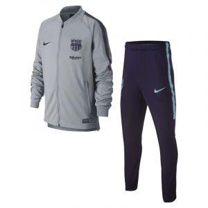 Nike Survêtement de football FC Barcelona Dri-FIT Squad pour Enfant plus âgé - Gris - Taille L