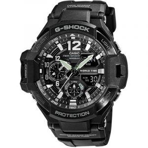 Casio Montre Chronographe Homme G-Shock Premium Aviator GA-1100-1A1ER