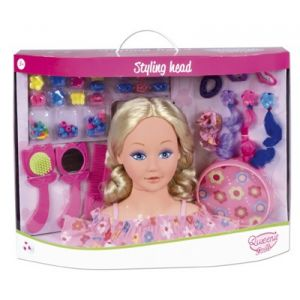 Qweenie Dolls Tête à coiffer avec accessoires