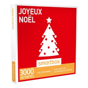 Smartbox Joyeux Noël - Coffret cadeau 3000 activités