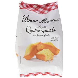 Bonne Maman Petit quatre-quarts au beurre frais - Le paquet de 300g