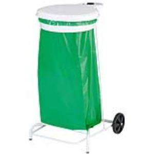 Rossignol (collecte déchets & hygiène) Support de sac poubelle Collecroule à pédale mobile (110 L)