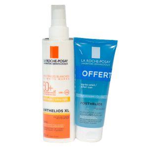 La Roche-Posay Anthelios XL - Spray SPF50+ + Posthelios Hydra gel anti-oxydant