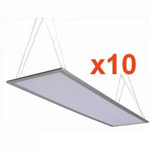 Silamp Dalle LED 60x30 Slim 30W (Pack de 10) - couleur eclairage : Blanc Froid 6000K - 8000K
