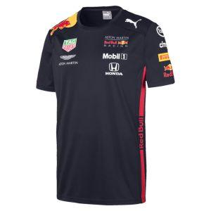 Puma Red Bull Racing Aston Martin Team Tee 2019, XXL T- T-Shirt Bleu Navy, XX-Large Homme