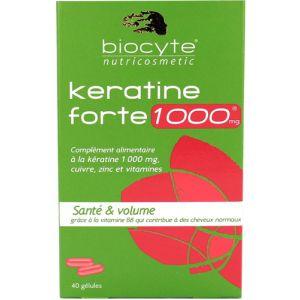 Biocyte Keratine forte 1000mg - Santé et volume