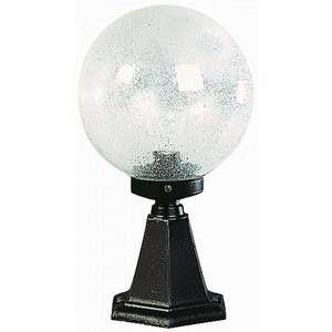 Albert Leuchten Luminaire pour socle I en verre à bulles noir
