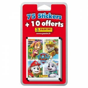 Panini 17 pochettes de stickers Pat'Patrouille