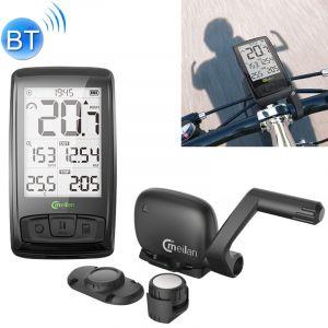 WeWood Compteur de Vitesse Vélo MEILAN M4 IPX5 Étanche Bluetooth V4.0 Sans Fil Ordinateur Cyclisme Chronomètre Speedomètre Cadence Capteur Odomètre avec 2.5 pouce Écran