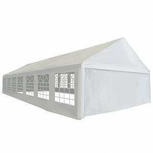 VidaXL Tente de réception PE 6 x 14 m Blanc