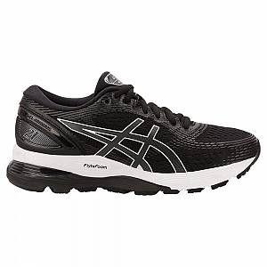 Asics Gel-Nimbus 21, Chaussures de Running Femme, Multicolore (Black/Dark Grey 001), 40 EU