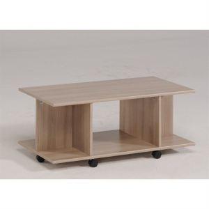 menzzo table basse ella en aluminium relevable comparer. Black Bedroom Furniture Sets. Home Design Ideas
