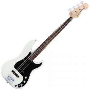 Fender Deluxe Active Precision Bass Special Olympic White PF