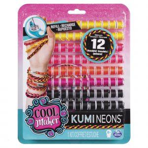 Spin Master Cool Maker Kumi Neons - Recharges Kumi Kreator - Modèle aléatoire