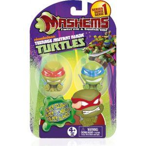 IMC Toys 230293 - Figurines Souples Tortues Ninja Collectible x2