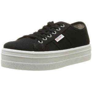 Victoria Basket Lona Plataf, Sneakers Basses mixte adulte, Noir (10 Negro), 41 EU