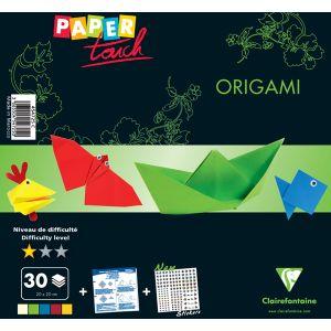 Clairefontaine 454725C - Kit Origami Niveau Initiation : 30 Feuilles 80 g/m²