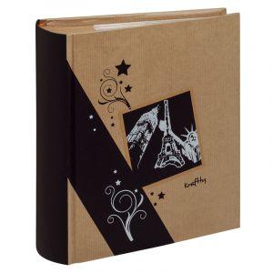 Erica Album kraftty à pochettes pour 300 photos 11.5x15 - Noir