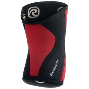 Rehband Protecteurs articulations Rx Knee Sleeve 5 Mm - Red - Taille XL