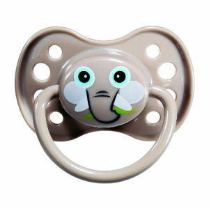 Dodie 5411021 - Sucette anatomique Masque avec anneau en silicone N°34 (6 mois +)