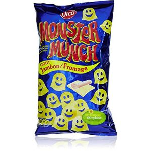 Vico Monster Munch Goût Jambon/Fromage Le Sachet 85 g