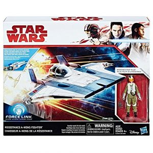 Hasbro Star Wars Episode VIII - Véhicule A-Wing Fighter + Figurine